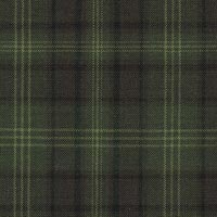 Green 100% Fine Merino Wool Custom Suit Fabric