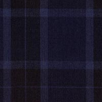 Navy 100% Fine Merino Wool Custom Suit Fabric