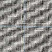 Gray&Blue 100% Super 140'S Wool Custom Suit Fabric