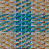 Brown&Teal 100% Super 100'S Wool Custom Suit Fabric