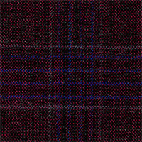 Aubergine 100% Super 140'S Wool Custom Suit Fabric