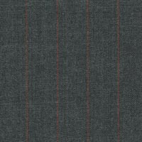 Gray 100% Super 100'S Worsted Custom Suit Fabric