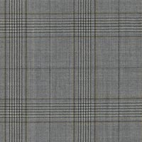 Silver 100% Super 160'S Worsted Custom Suit Fabric