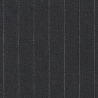 Charcoal 100% Super 160'S Worsted Custom Suit Fabric