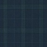 Navy 100% Super 160'S Worsted Custom Suit Fabric