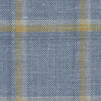 Blue 40%Wool Worsted 35%Silk 25%Lin Custom Suit Fabric