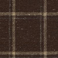 Dark Brown 54%Silk27%Linen19%Wool Worsted Custom Suit Fabric
