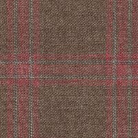 Brown 60% S100s Wool 37%Linen 3%Silk Custom Suit Fabric