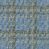 Light Blue 75% S120s Wool Worsted 25%Silk Custom Suit Fabric
