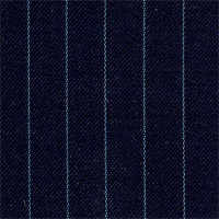 Navy 100% Super 140'S Wool Custom Suit Fabric