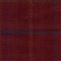 Burgundy 100% Super 120'S Wool Custom Suit Fabric