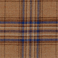 Golden Brown 100% Super 120'S Wool Custom Suit Fabric