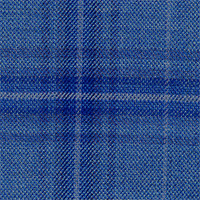 Indigo 100% Super 140'S Wool Custom Suit Fabric
