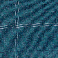 Teal 100% Super 140'S Wool Custom Suit Fabric
