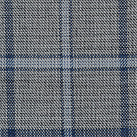 Slate Gray 100% Super 140'S Wool Custom Suit Fabric