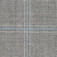 Gray 100% Super 100'S Wool Custom Suit Fabric