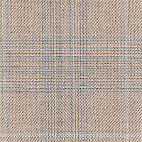Tan 100% Super 100'S Wool Custom Suit Fabric