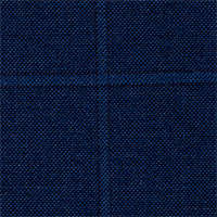 Char Blue 100% Super 140S Wool Custom Suit Fabric