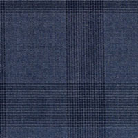 Blue 100% Super 150'S Wool Custom Suit Fabric