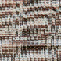 Taupe 100% Super 150'S Wool Custom Suit Fabric