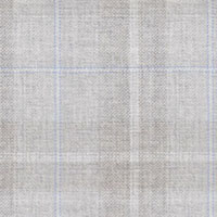 Silver 100% Super 130'S Wool Custom Suit Fabric