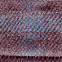 Mauve 100% Super 130'S Wool Custom Suit Fabric