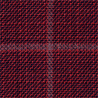 Red&Black 100% Super 120'S Wool Custom Suit Fabric