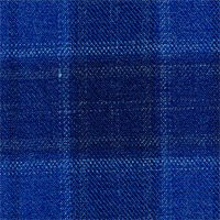 Royal Blue 100% Super 140'S Wool Custom Suit Fabric