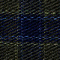 Forest Green 100% Super 140'S Wool Custom Suit Fabric