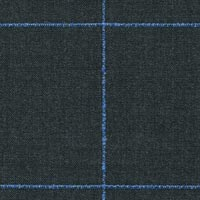 Gray 100% Super 130'S Worsted Custom Suit Fabric