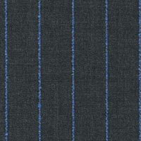 Blue Gray 100% Super 130'S Wool Worsted Custom Suit Fabric