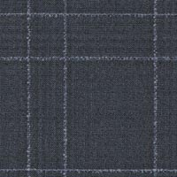 Navy 100% Super 130'S Wool Worsted Custom Suit Fabric
