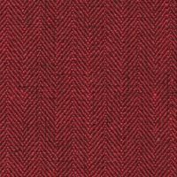 Red 100% Linen Custom Suit Fabric