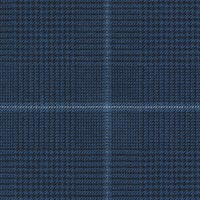 French Blue 70% S120s Worsted 30% Teclana Custom Suit Fabric