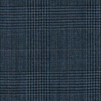 Blue 100% High Twist Wool Worsted Custom Suit Fabric