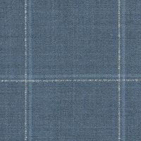 Light Blue 100% Wool Worsted Custom Suit Fabric