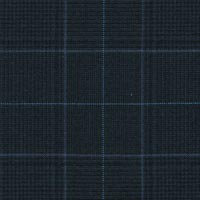 Midnight 100% Super 170'S Wool Worsted Custom Suit Fabric
