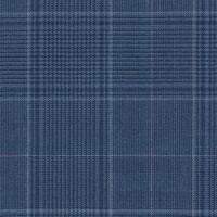 Blue 100% Super 170'S Wool Worsted Custom Suit Fabric