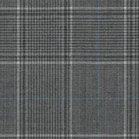 Light Gray 100% Super 170'S Wool Worsted Custom Suit Fabric