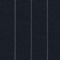 Navy 100% Super 170'S Wool Worsted Custom Suit Fabric