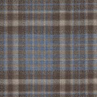 Blue&Brown 100% Super 130'S Wool Worsted Custom Suit Fabric