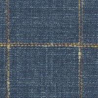 Blue 38% S120's Wl 31%Silk 31%Linen Custom Suit Fabric