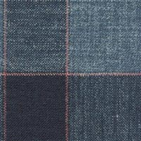 Light Blue 38% S120's Wl 31%Silk 31%Linen Custom Suit Fabric