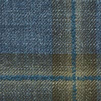 Blue 38% Wool 31%Silk 31%Linen Custom Suit Fabric