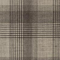 Black&White 100% Super 130'S Wool Worsted Custom Suit Fabric