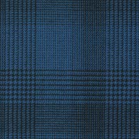 French Blue 100% Super 130'S Wool Worsted Custom Suit Fabric
