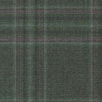 Green 100% Wool Worsted Custom Suit Fabric