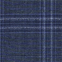 Blue Gray 100% Super 120'S Wool Custom Suit Fabric