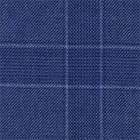 Heather Blue 100% Super 120'S Wool Custom Suit Fabric