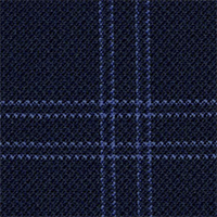 Midnight 100% Super 100'S Wool Custom Suit Fabric